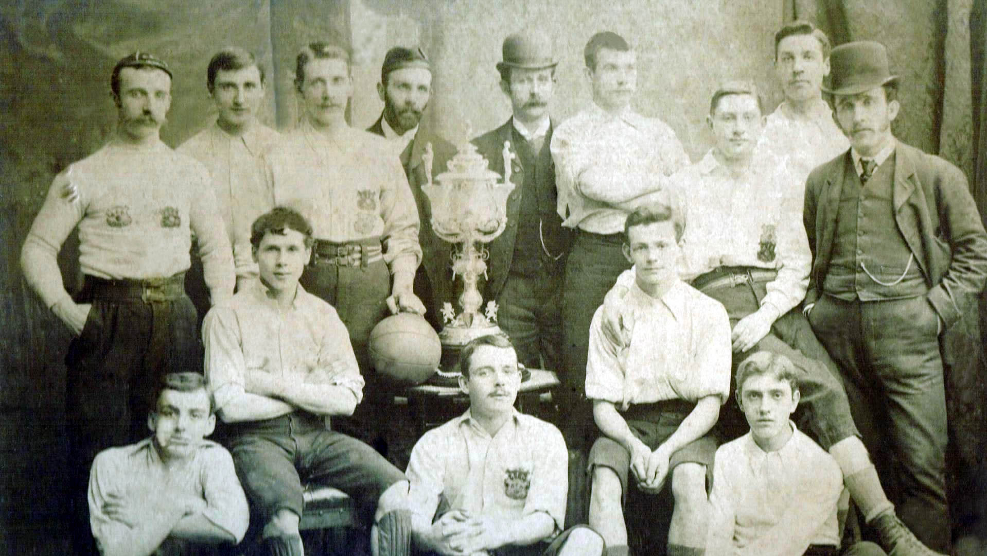 Aberdeen F.C. 1888-89, Aberdeenshire Cup Winners - No copyright - attached