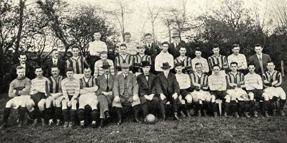 Aberdeen F.C. v Huntly F.C., 10 Apr 1926 - Original B&W picture - No copyright - attached.