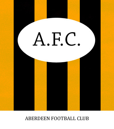Aberdeen Football Club 1925 Logo - Designed by Graeme Watson © 2019