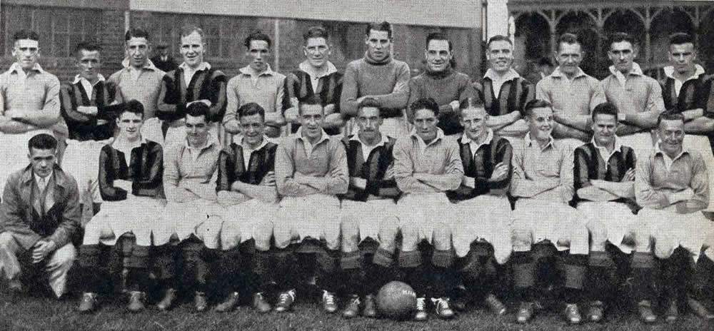 Aberdeen F.C. 1931 First Team and Reserves - Original B&W picture - No copyright - attached.