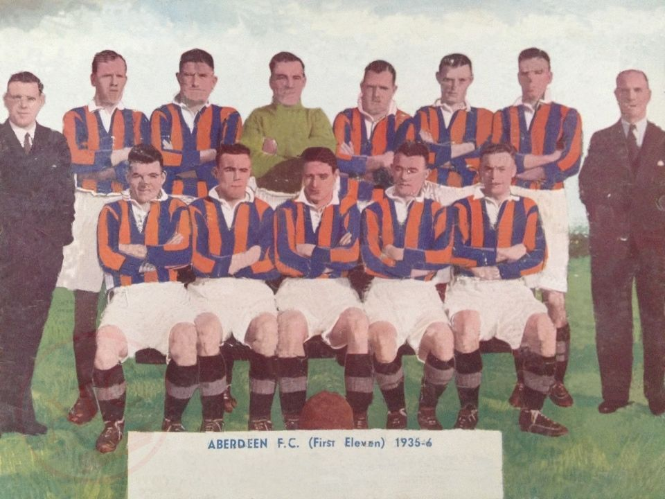 Aberdeen F.C. 1935-36 in colour - No copyright - attached.
