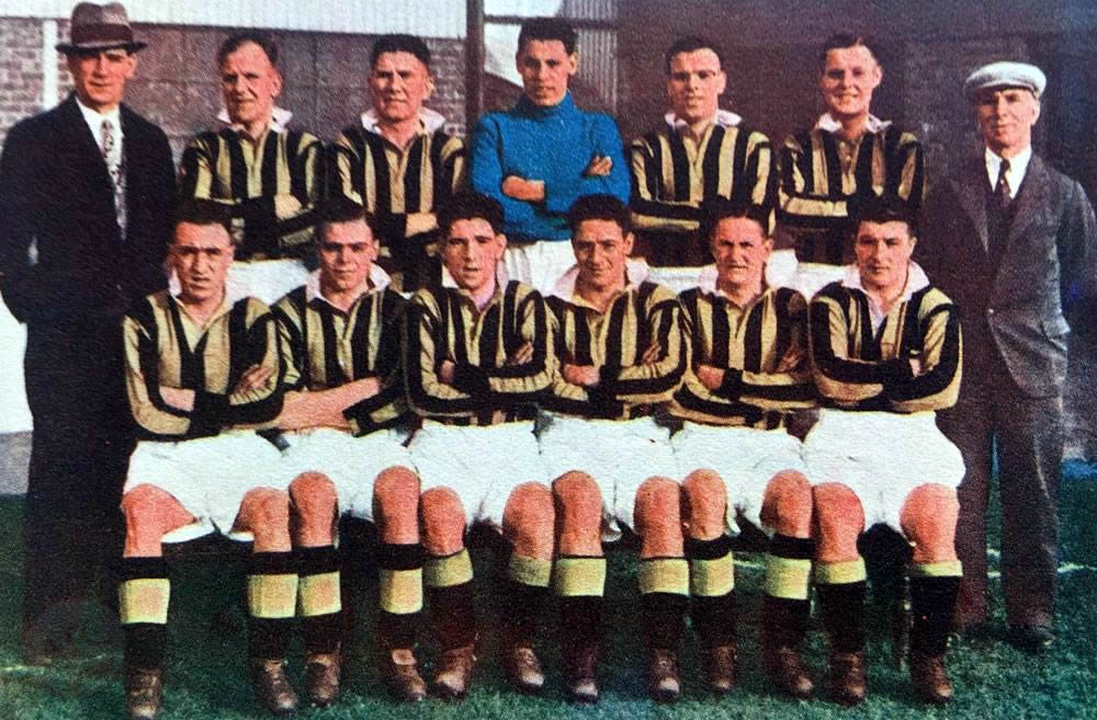 Aberdeen F.C. 1938-39 in colour - No copyright - attached.