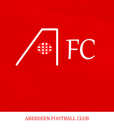 Aberdeen Football Club's 1979 type Logo is used to convey the meaning intended and avoid tarnishing or misrepresenting the intended image - This version designed by Graeme Watson 2019 (Use of the logo here does not imply endorsement.)