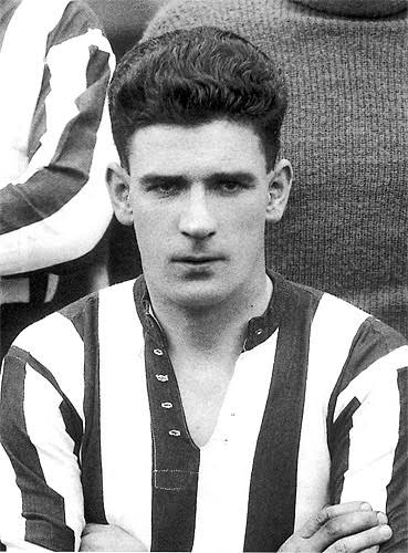 David 'Dave' Halliday - Original B&W picture - No copyright - attached.